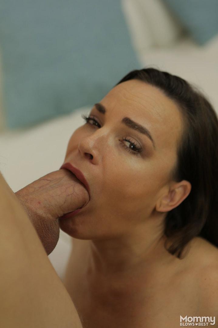 Angela MILF blowjob 5