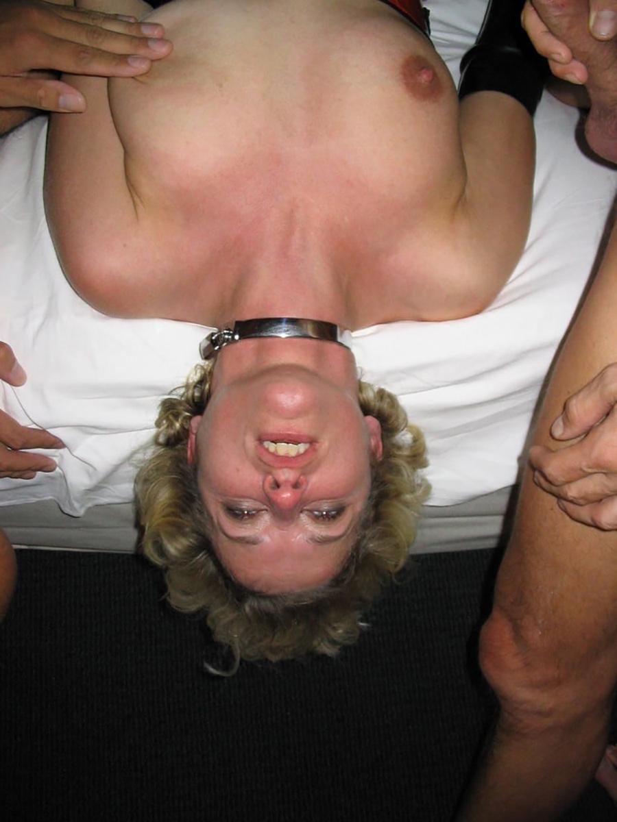 Femme mature pute à gangbang 5