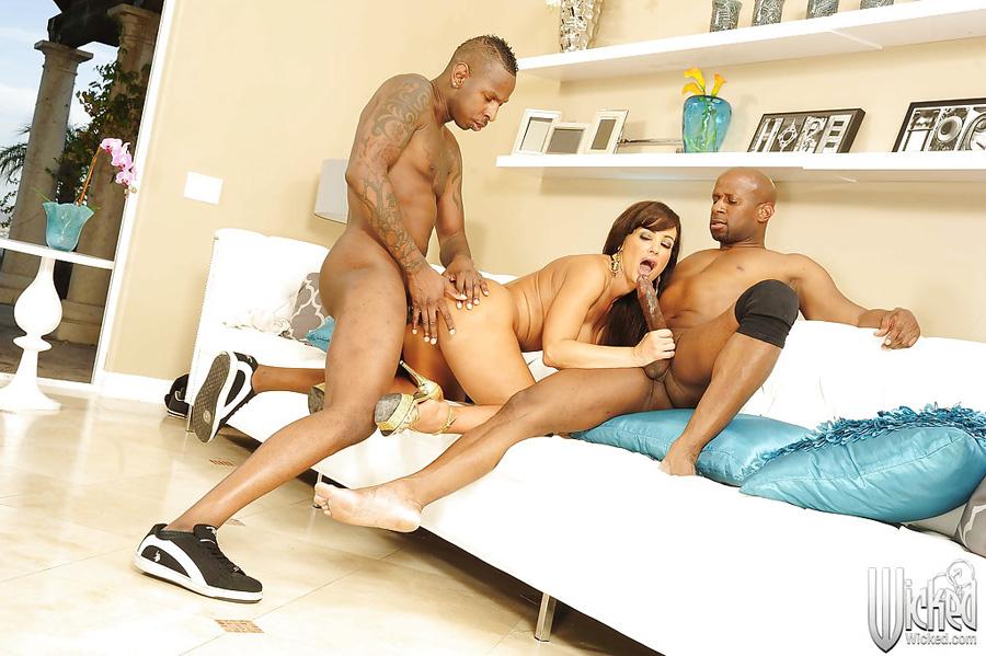 Gangbang interracial Lisa Ann Wicked 2