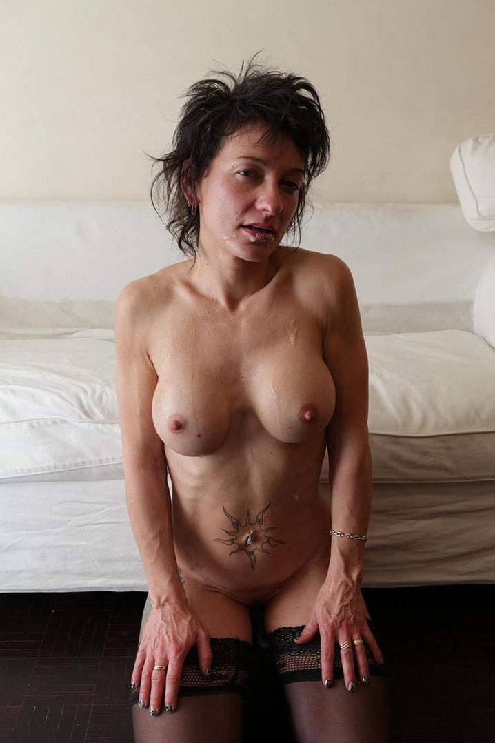 Martine femme au foyer française double penetration 24