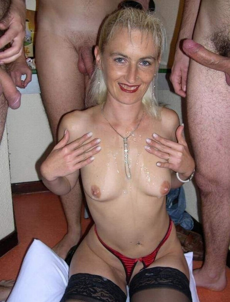 Mathilde trou à bites gangbang 18