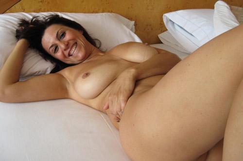 Femme amateur mature gros seins